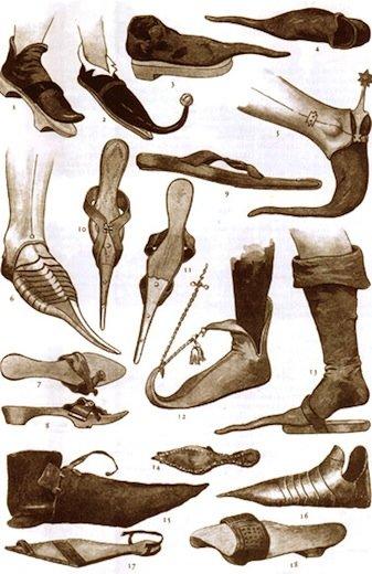 История туфель началась в Древнем Египте. Большинство простых египтян  передвигались босиком 3cd3b60e145bc